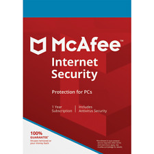 McAfee Internet Security 2020 UNLIMITED DEVICE PC/MAC/Android 1YEAR Antivirus