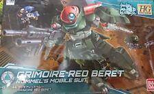 Bandai HG Gundam Build Divers 003 Grimoire Red Beret 1/144 Scale Kit Japan NEW