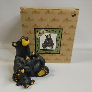 "Bearfoots bear figurine ""Momma's Home"" 0105/6626 by Jeff Fleming"
