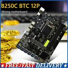 B250C BTC PCI Express DDR4 Computer Mining Motherboard Supports LGA1151 Gen6/7