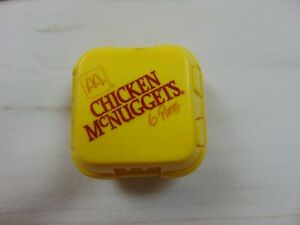 McDonalds Happy Meal Toys Changeable's 1990 Transformers Chicken McNuggets 6pc