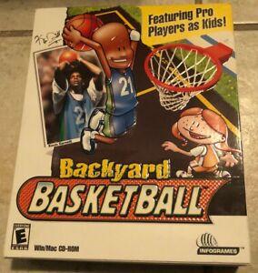 BRAND NEW Backyard Basketball PC Game FACTORY SEALED in Retail Box - RARE NIB