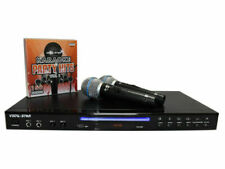 Vocal-Star VS600 HDMI Karaoke Machine with 2 Microphones and 150 Party Songs