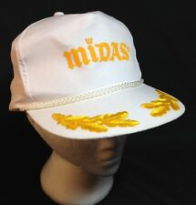 Midas Baseball Cap Adjustable White