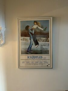Ice Castles (1978) Extremely Rare Original One Sheet Poster - Framed & Numbered