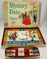 1965 Mystery Date Game by Milton Bradley Complete in Good Condition FREE SHIP