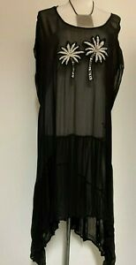 ts Taking Shape Tunic  Size 22 Sheer Palm Groves Style NWT