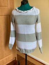 Womens Machine Knit Unique Design Sweater Size S