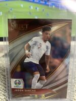 JADON SANCHO 2020 Select UEFA EURO Field Level Panini SP Red Optic ENGLAND Prizm