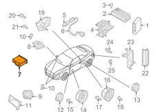 AUDI A6 C7 CD Changer 8X0035110C New Genuine