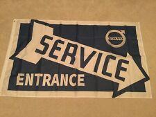 Volvo T5 740 940 v40 v70 xc60 xc90 service entrance workshop flag
