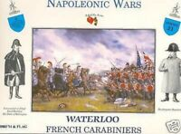 A Call To Arms French Carabiniers Waterloo Plastic Soldier Kit 1:32