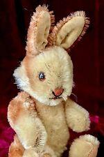 """Vintage Steiff NIKI Rabbit 6.5"""" 1950s 1960s Original Mohair Fully Jointed Superb"""