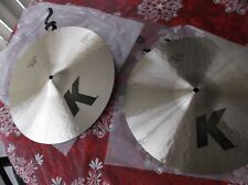 "Zildjian  K light HI HAT 15""  Pair  Cymbal"
