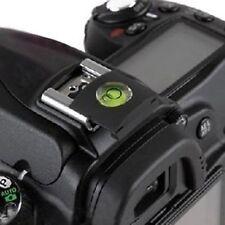 Protection de Griffe Sabot Hot-shoe Flash pr Canon et Nikon+niveau à bulle