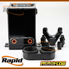 Dual EFI Pump Surge Tank Kit Black Aeroflow AF77-2044BLK