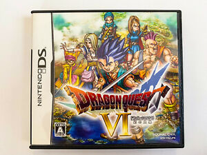 Nintendo DS Game soft Dragon Quest VI 6 Realms of Revelation japanese