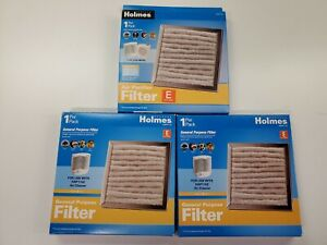 """New Qty 3 Holmes """"E"""" Air Filters HAPF115 for HAP115Z"""