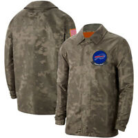 Buffalo Bills Jacket Salute to Service Sideline Coat Breasted Top Sweatshirts