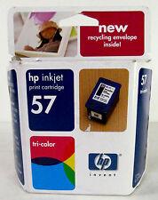 Genuine HP inkjet print cartridge 57 tri-color NEW in  unopened Box