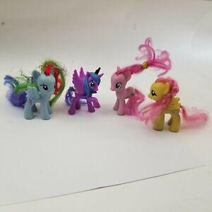 My Little Pony Lot of 4 Miniature Figure Toys o