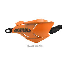Acerbis X-Factory MX Motocross Handguards w/Universal Fitting Kit - Orange/Black