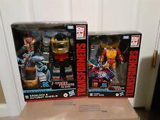 NEW Transformers Studio Series 86 Grimlock w/Wheelie & Hot Rod Lot MISB!!!
