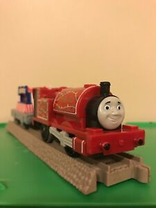 THOMAS Train Trackmaster Motorized Skarloey And Puppet Show Car