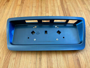 2008-2014 Subaru Tribeca Liftgate License Plate Trim Garnish Panel Blue - OEM