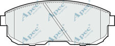 FRONT BRAKE PADS FOR NISSAN 200 SX GENUINE APEC PAD669
