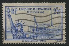 France Scott #372, Single 1939 FVF Used
