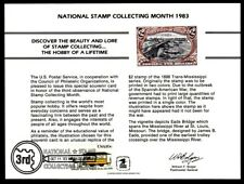 SC88 Souvenir Card 1983 National Stamp Collecting Month