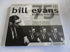 Bill Evans - 75th Birthday Celebration - 3 CD Box-Set