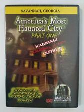 Savannah, Ga. America's Most Haunted City, Part One, DVD, CD New Sealed