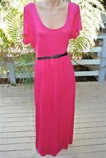 NEW Crossroads Cerise Pink MAXI DRESS Size XXL -22. $49.95 Includes Black Belt