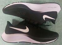 Nike Air Zoom Pegasus 37 Men's Running Shoes - US 11.5 - BLACKWHITE - NEW NO BOX