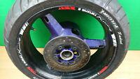 SUZUKI GSXR 600 750 K1 K2 K3 01-03 Rear wheel & disc