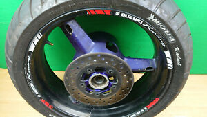 SUZUKI GSXR 600 750 K1 K2 K3 01-03 Rear wheel & disc
