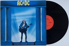 AC/DC Who Made Who 1986 OZ Albert Productions Orange Label EX/EX