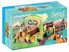 Kids Spirit Lucky Horse Stall Play Set Toy Toddler Pretend Grooming Gift New