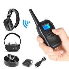 Charging Remote Control Electric Electro Shock Penis Ring & Neck Collar E-stim