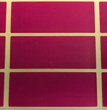 Large Purple 30 x 78mm Colour Code Rectangles - Filing / Box Stickers / Labels