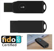 FIDO U2F security key with standard USB interface - Vat Registered - UK Stock