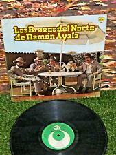 LOS BRAVOS DEL NORTE DE RAMON AYALA Latin Norteño Tejano Tex-Mex 1986 MEXICO LP