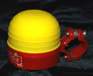 FUN WHEELS Trike Horn Red & Yellow NEW!