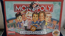 Monopoly Coronation Street Edition by Waddingtons 40 Years Special from yr  2000