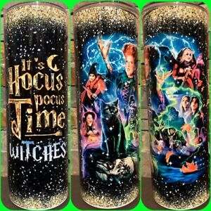 It's Hocus Pocus Time Witches 20oz Tumbler - FREE PRIORITY SHIPPING