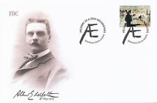 Finland 2004 FDC - Art Painter Albert Edelfelt, Luxembourg Park 1887 - April 28