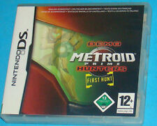 Metroid Prime Hunters First Hunt Demo - Nintendo DS NDS - PAL