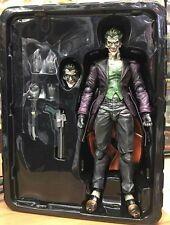 """11"""" SquareEnix Play Arts Batman Arkham Origins Joker Action Figure no box"""
